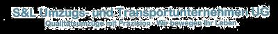 S&L Umzugs- und Transportunternehmen Logo